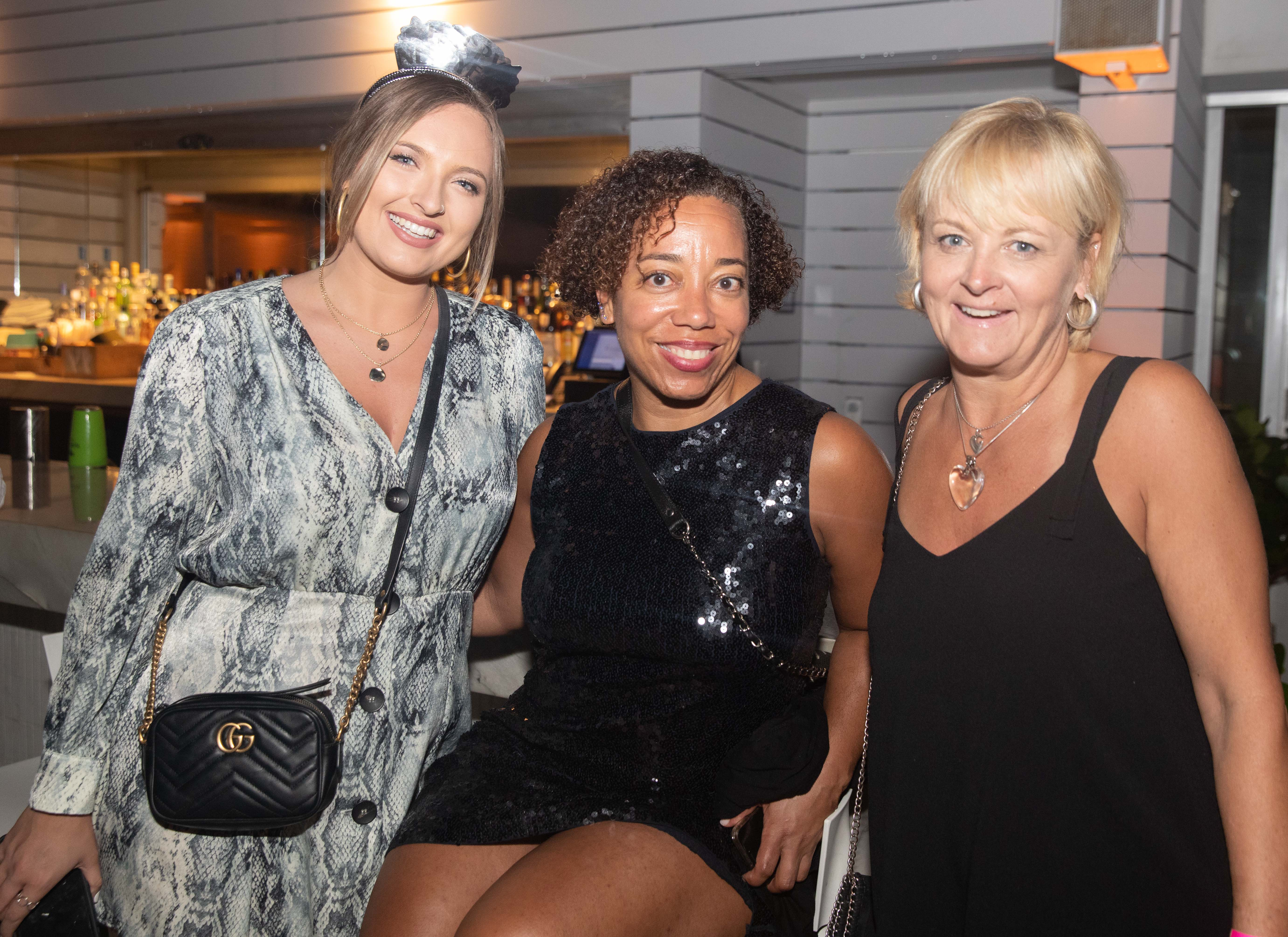 Paulina Kiernan, Jodi Brockington y Julia Kiernan. (Suministrada)