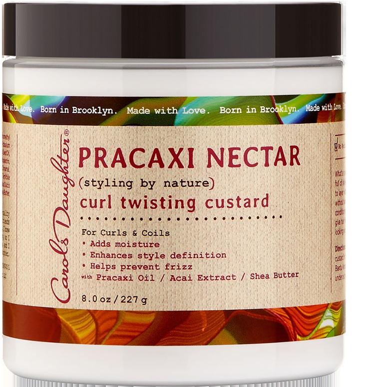 """Pracaxi Nectar es la nueva colección de productos de la línea Carol's Daughter que promete humectar y estilizar el cabello durante el verano. El Pracaxi Nectar Curl Twisting Custard  es parte de la colección y se caracteriza por darle definición al rizo, prevenir el """"frizz"""" y realzar el brillo. Disponible en farmacias. (Suministrada)"""