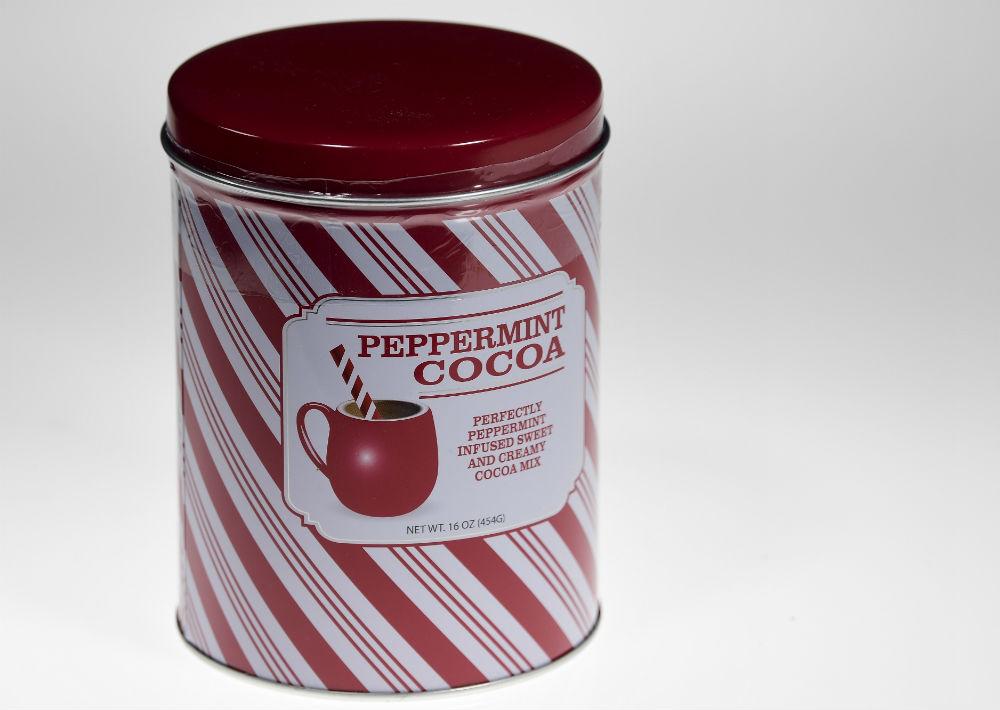 Peppermint Cocoa, $20, de Macy's. (Foto: Gerald López-Cepero)