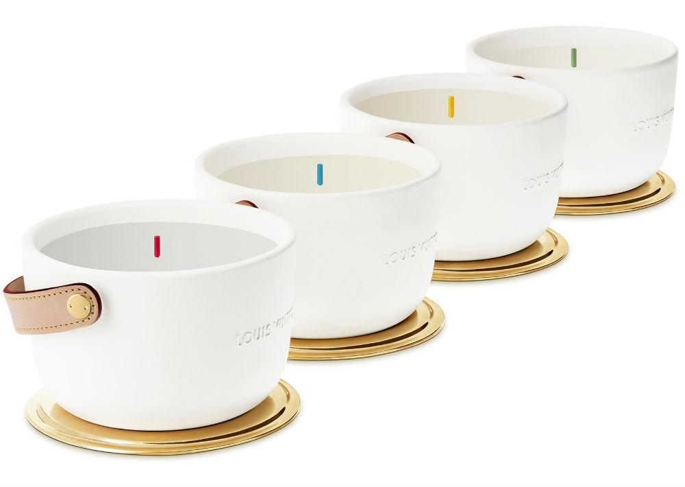 Velas aromáticas de Louis Vuitton. (Foto: Suministrada)