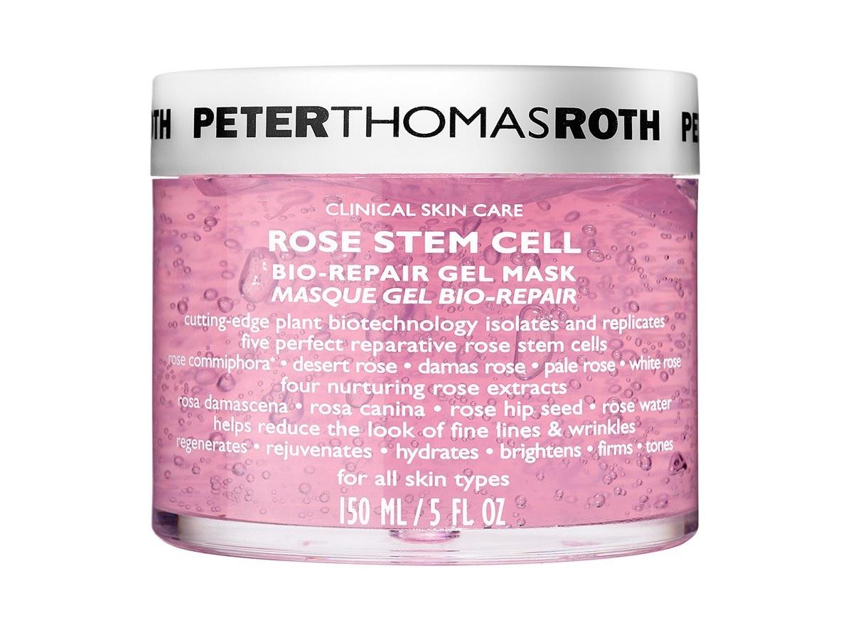 Rose Stem Cell Bio-Repair Gel Mask – Esta mascarilla de la marca Peter Thomas Roth promete mejorar la apariencia de tu rostro y batallar contra las señales de envejecimiento, como son las líneas de expresión, arrugas, deshidratación, flacidez y cambios en el tono de la piel. Encuéntrala en Amazon. (Suministrada)