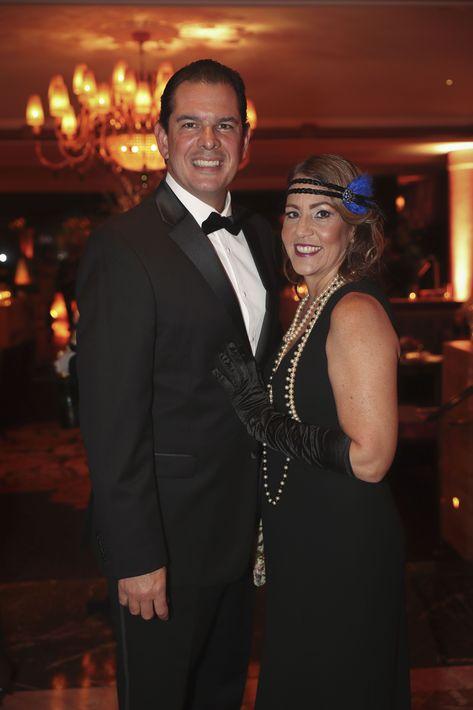 Peter Hopgood y Ana Hernández. Foto suministrada