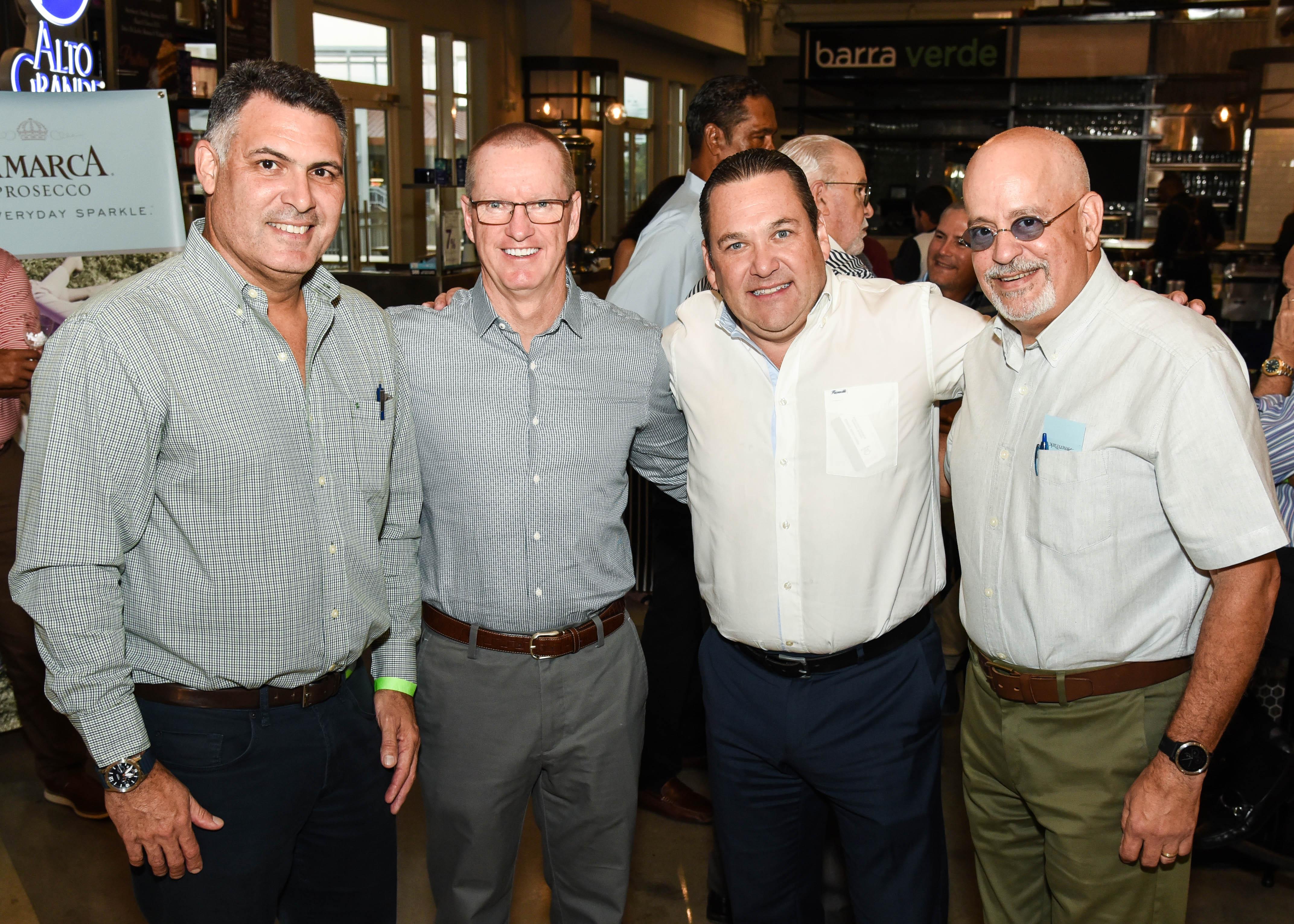 Peter Santiago, Michael Noone, Raúl Alvarado y Eduardo Pagán. (Enid M. Salgado Mercado)