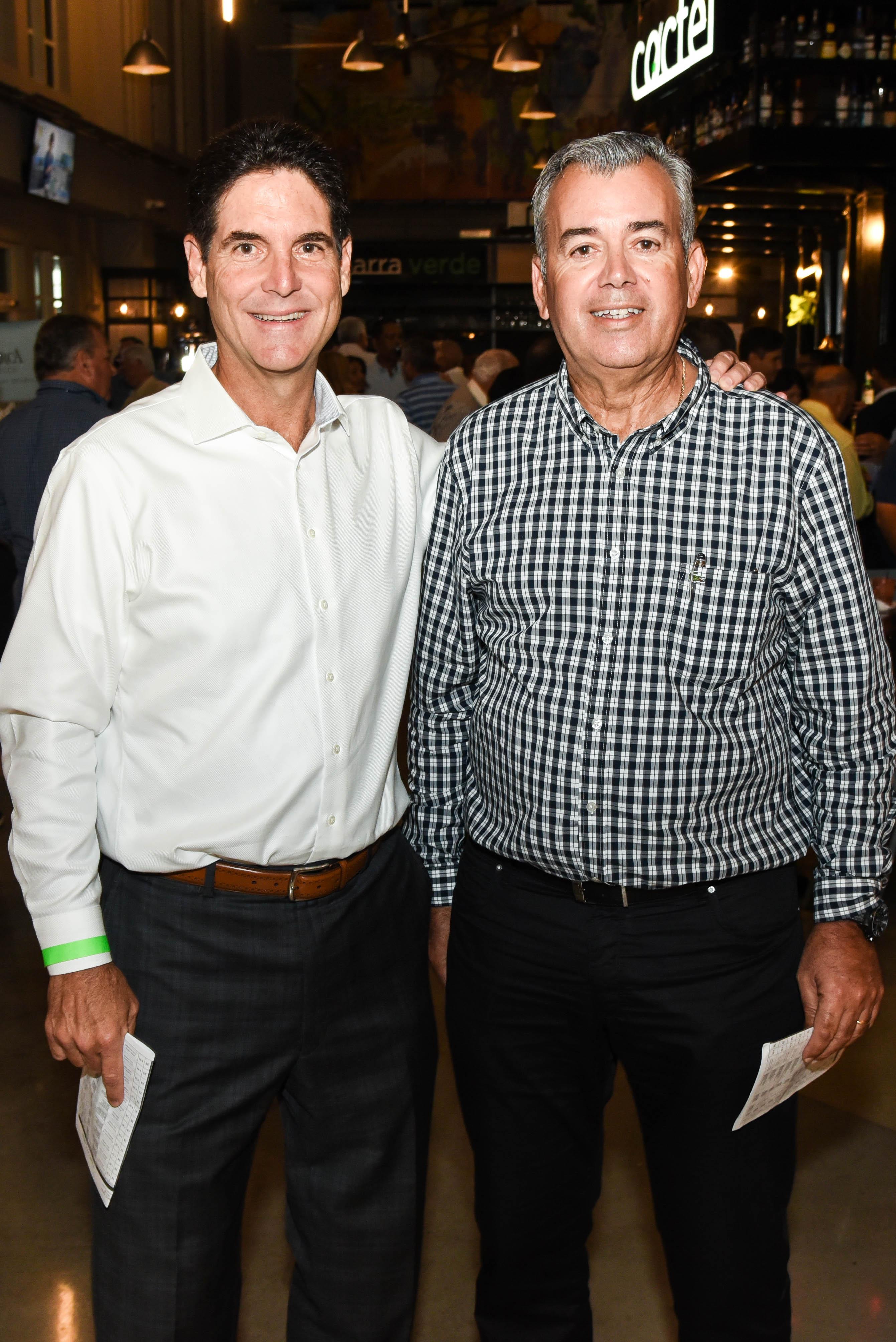 Juan Guerrero y Arturo Ortíz. (Enid M. Salgado Mercado)