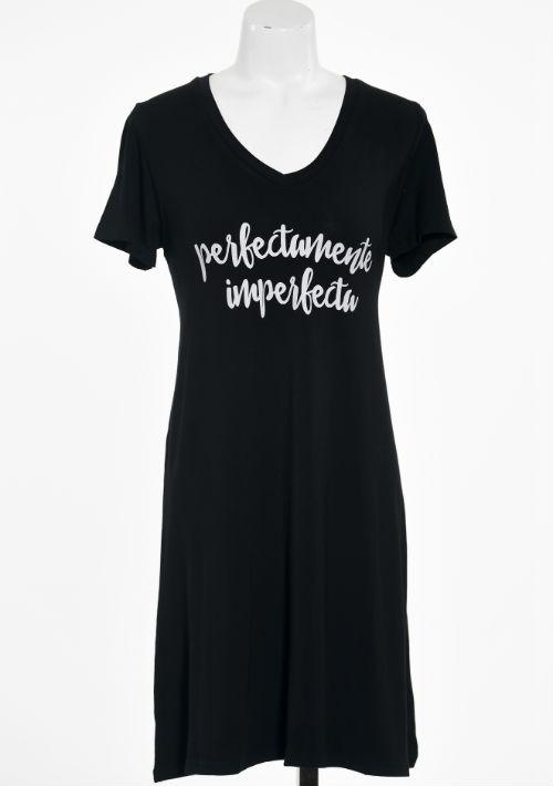 Pijama negra, de Tilde & Co. (Foto: Gerald López-Cepero)