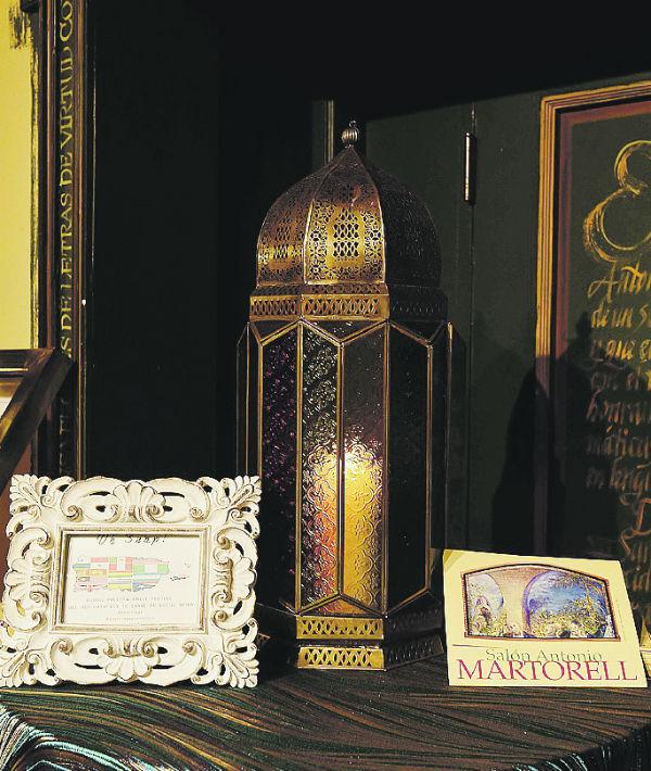 Detalle del Salón Antonio Martorell.