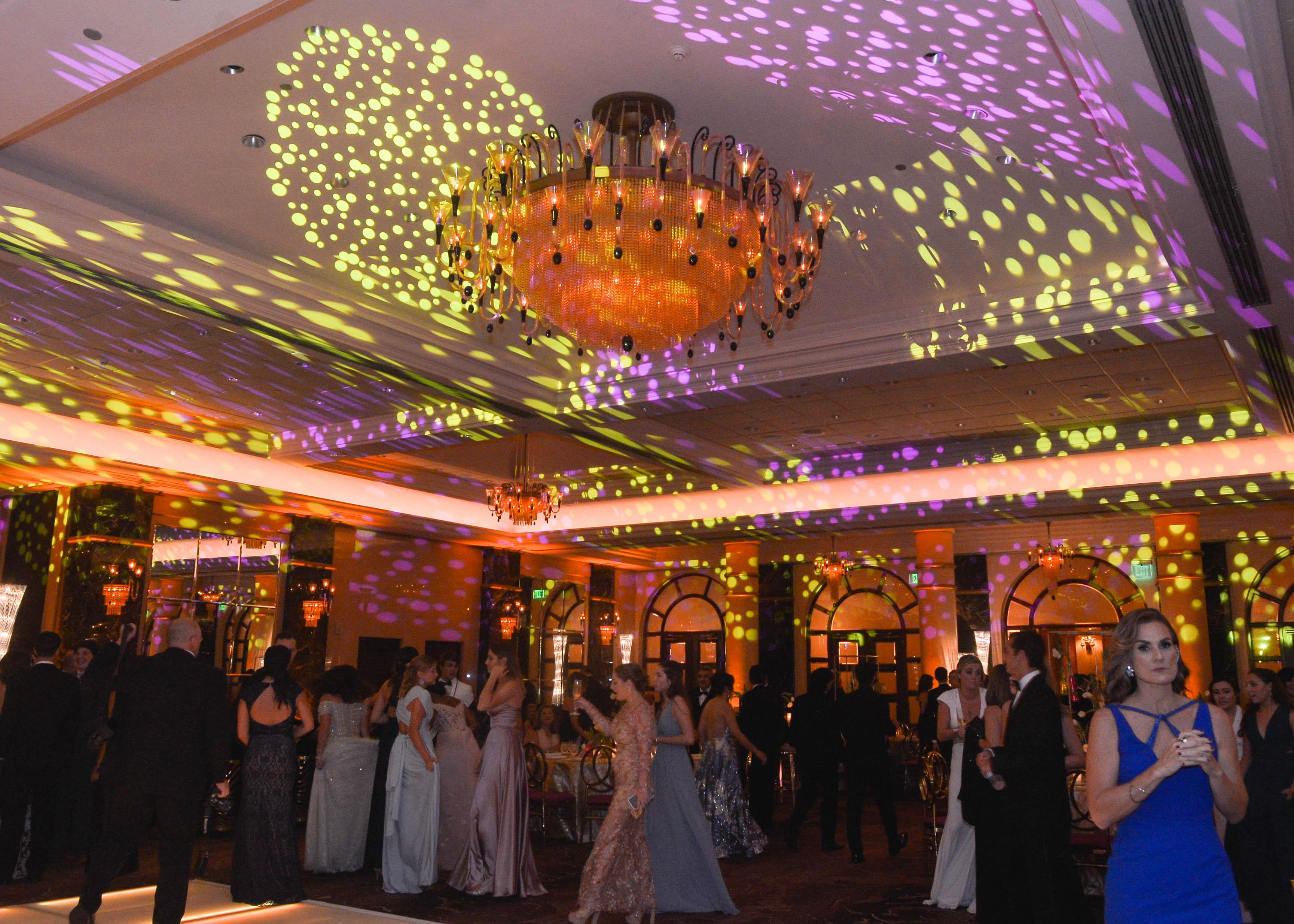 Vista de la elegante celebración del prom de Baldwin School. (Foto Enid M. Salgado Mercado)