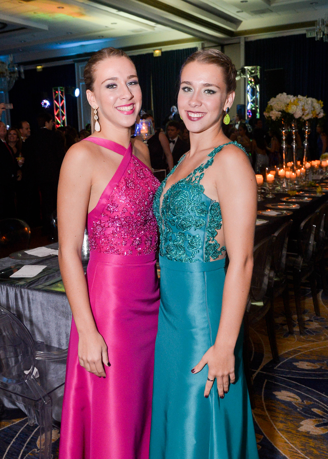 María Victoria y María Alejandra Méndez. Foto Enid M. Salgado Mercado
