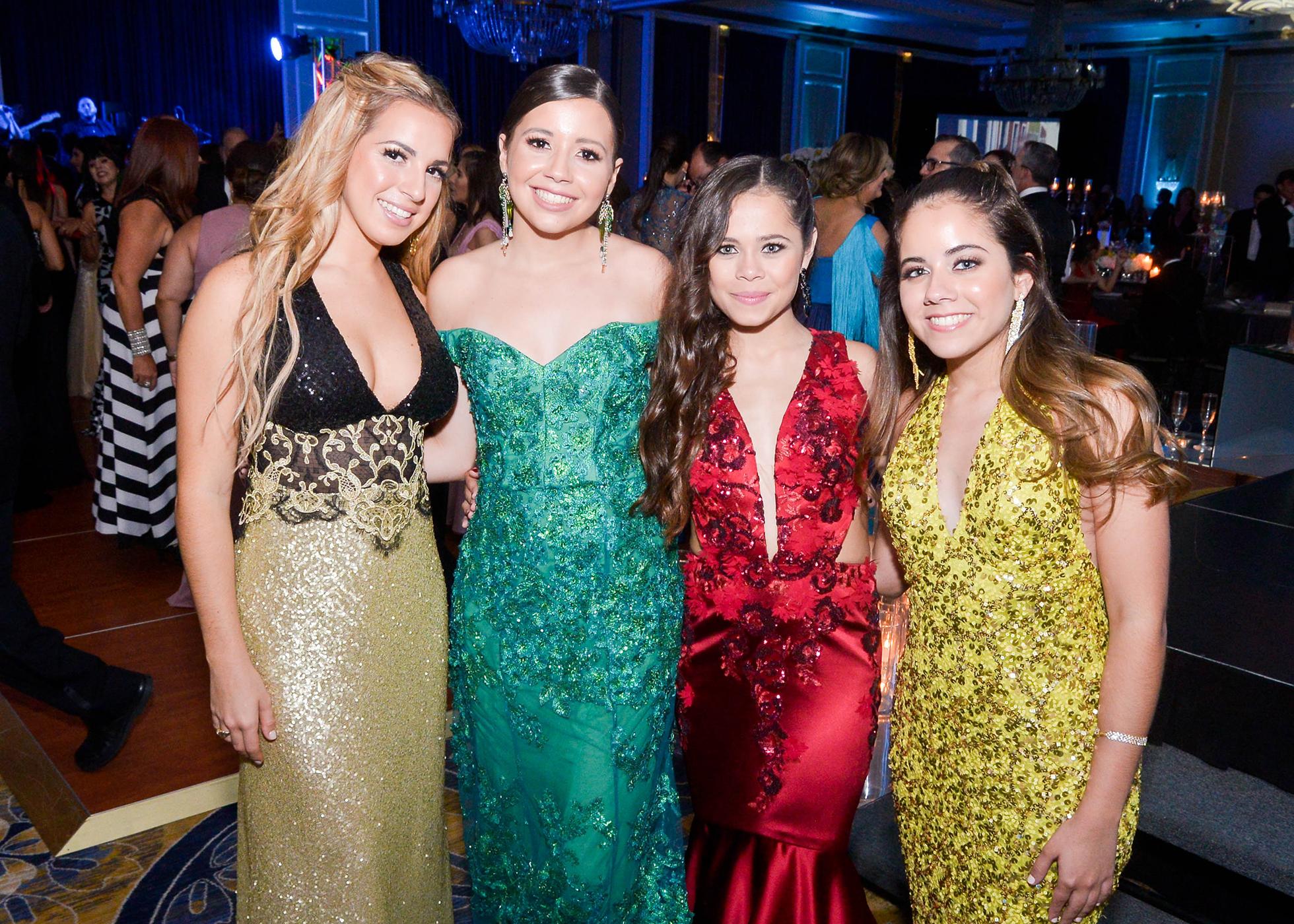 Juliette Wolpert, Beatriz Martorell, María Fernanda Medina y Carla Torres.. Foto Enid M. Salgado Mercado
