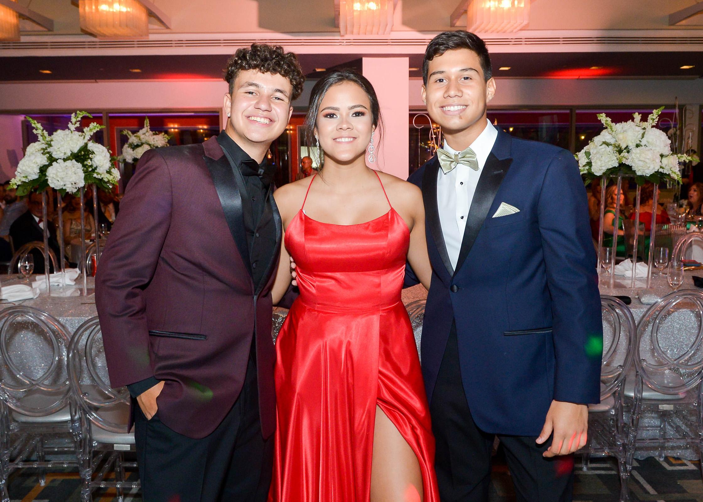 Diego Rodríguez, Ámbar Reyes y Carlos Sandoval. (Enid M. Salgado Mercado)