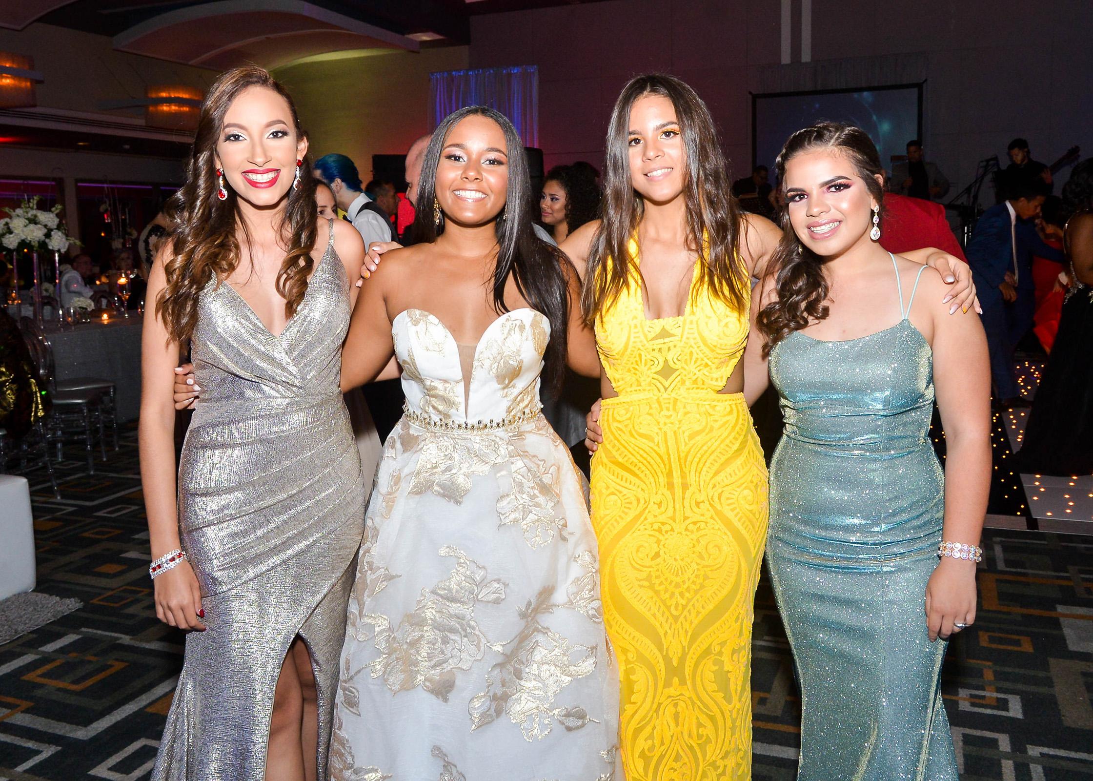 Alondra Mendoza, Valerie Olivo, Lyann Meléndez y Alondra Ortiz. (Enid M. Salgado Mercado)