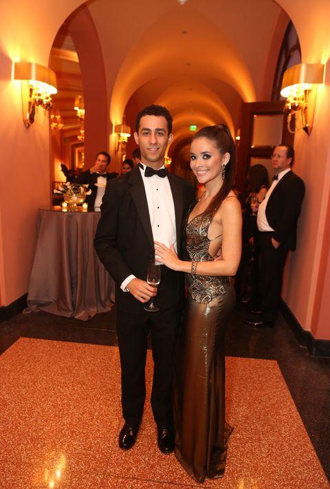 Ignacio Rivera y Sara Acevedo, en el Senior Prom de Baldwin School.
