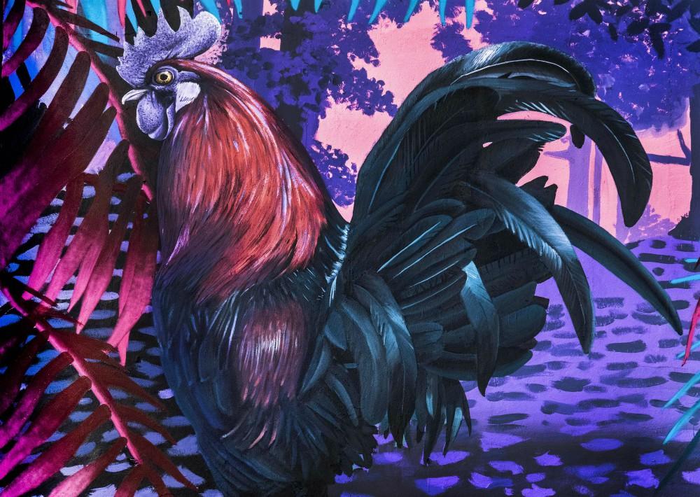 """Gliclée """"El Sendero"""" de edición limitada del artista David Zayas disponible en Galería Petrus."""