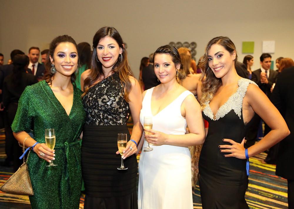 Zilka Rios, Laura Torres, Gladys Fontánez y Eyminel Viel. (José Rafael Pérez Centeno)