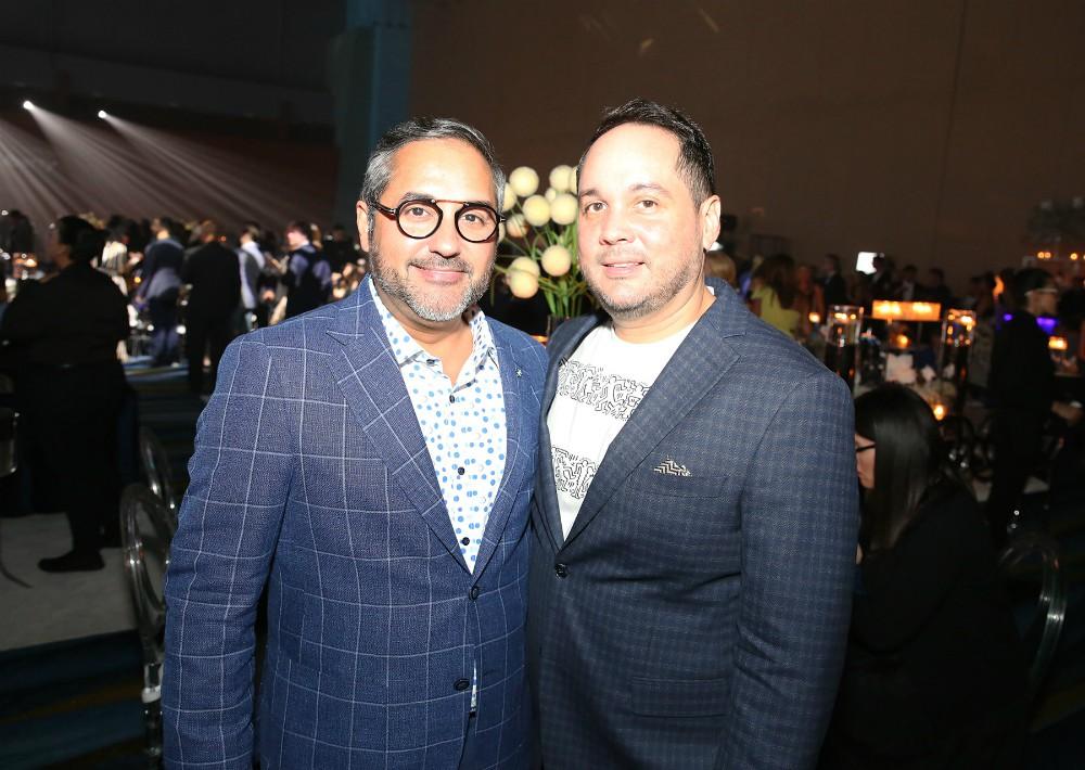 Rafael López y Javier Maldonado. (José Rafael Pérez Centeno)