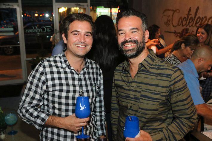 Raúl Urquiza y Roberto Somoza.