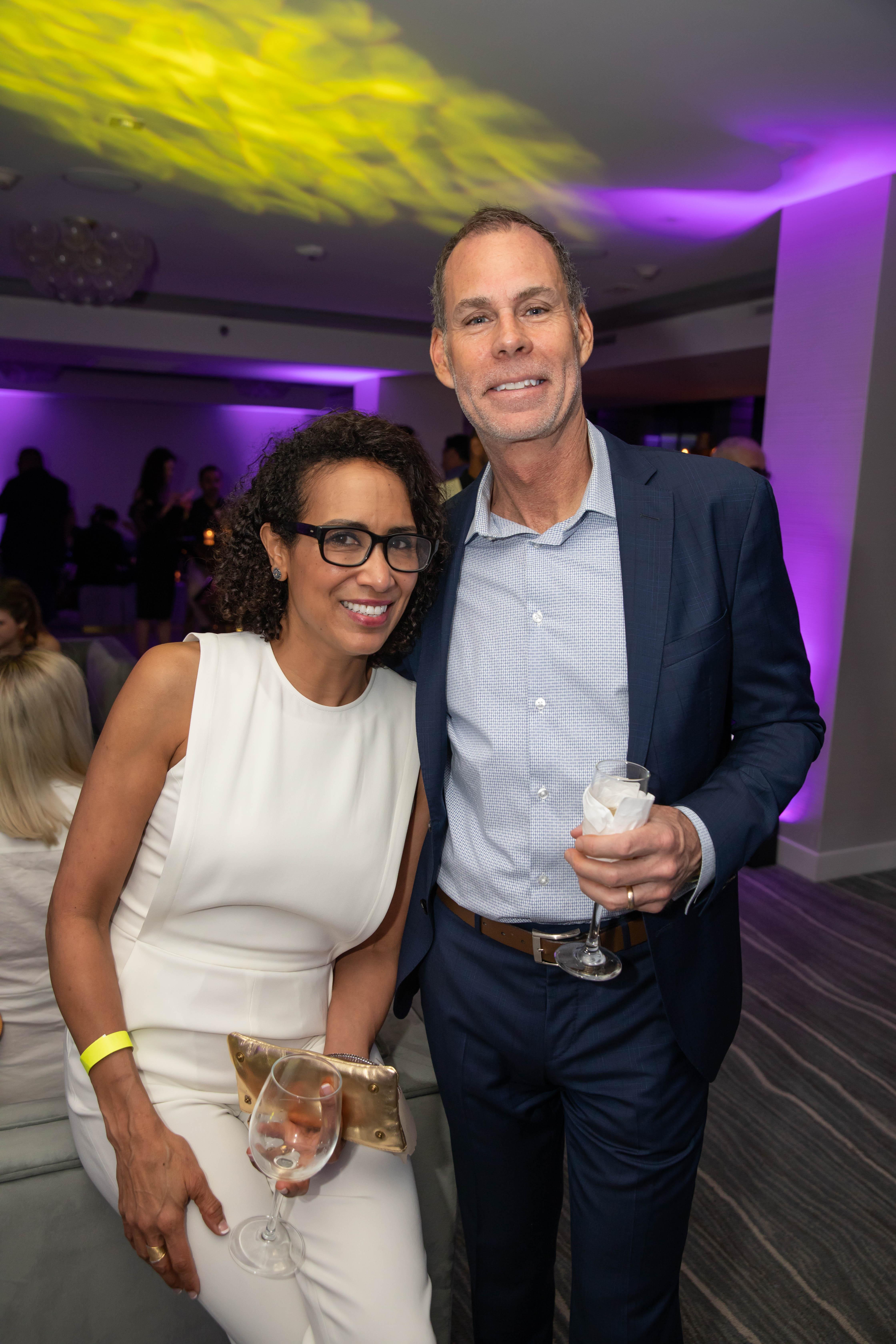 Raquel Rodriguez y Christopher Lynch. (Suministrada)