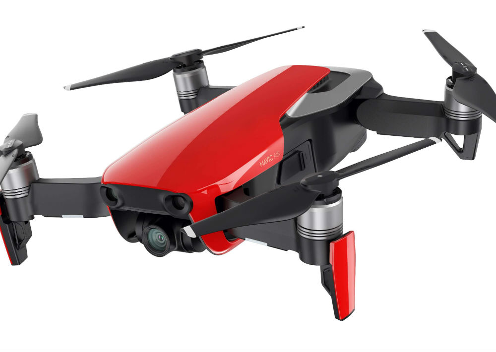 Dron DJI de Air Mavic. (Foto: Suministrada)
