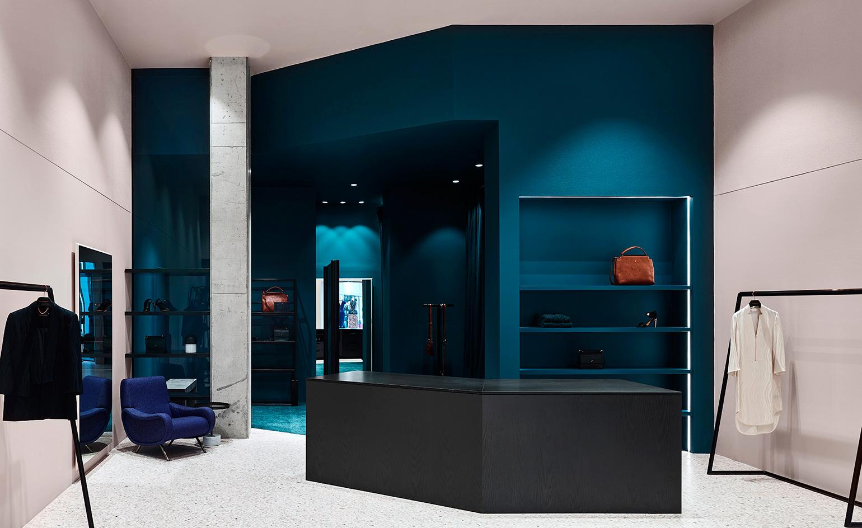 Ginger & Smart propone llevar el rosa a las paredes y combinarlo con azul. Foto WGSN.