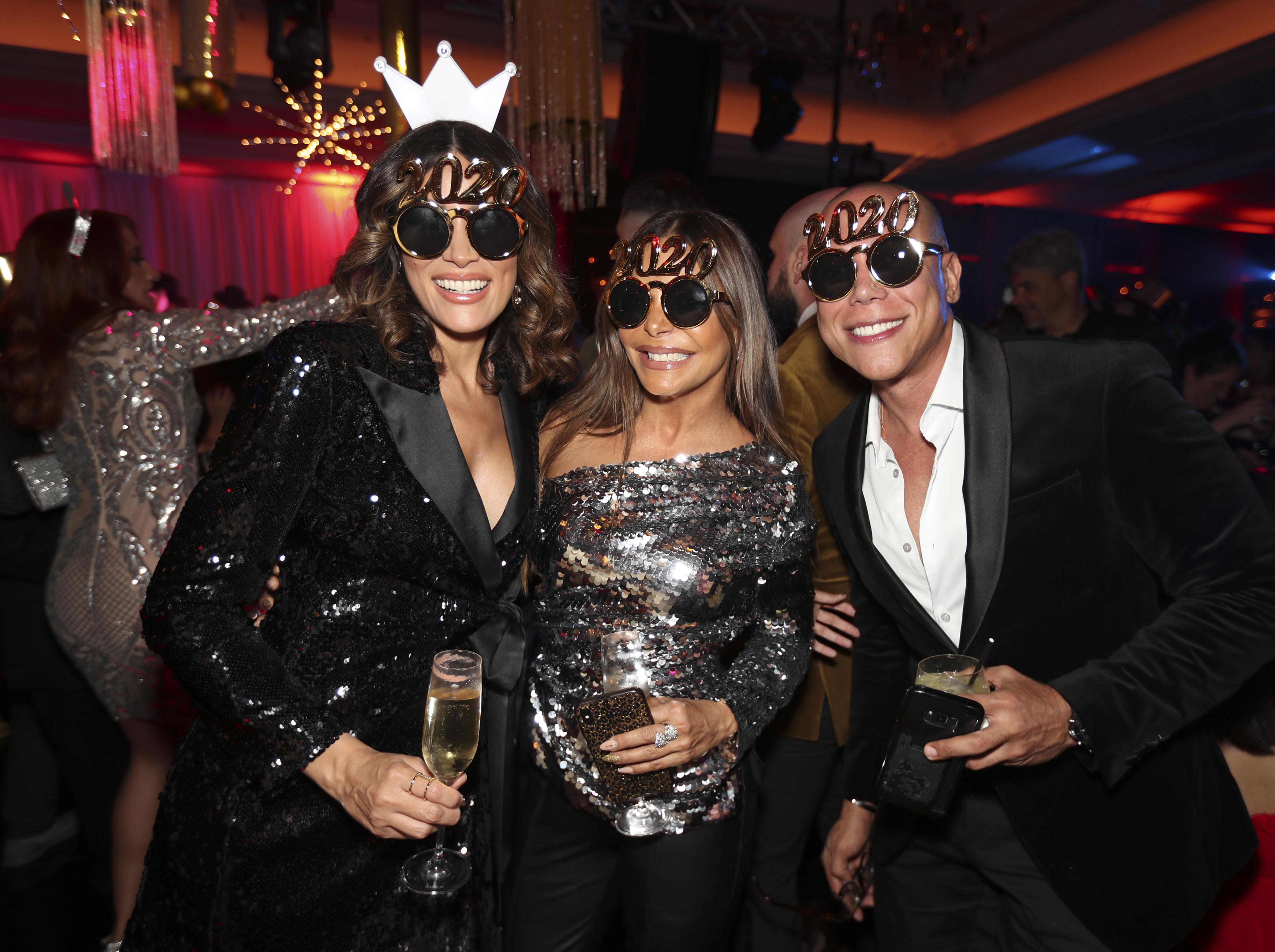 Rosalina Torres, Wanda Malva y Juan Saure. (Suministrada)