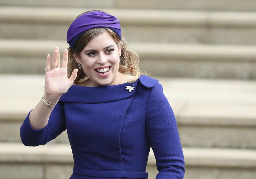 La princesa Beatrice, hija mayor de Andrew y Sarah Ferguson, es la octava en la línea de sucesión al trono. (AP)