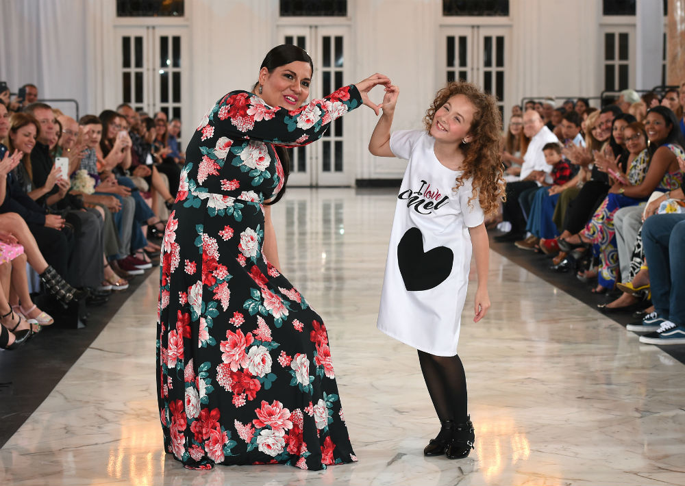 Las diseñadoras Mel Durán y Sabrina  y (Foto: André Kang)