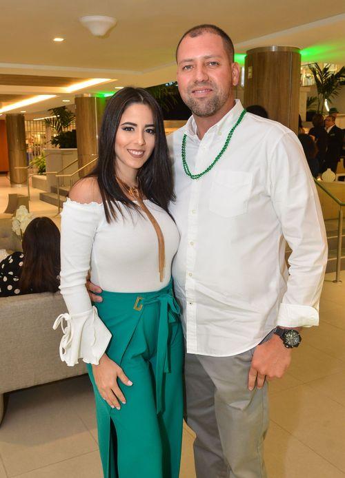 Jeiny Arriaga y David Rivera. Foto Enid M. Salgado Mercado.