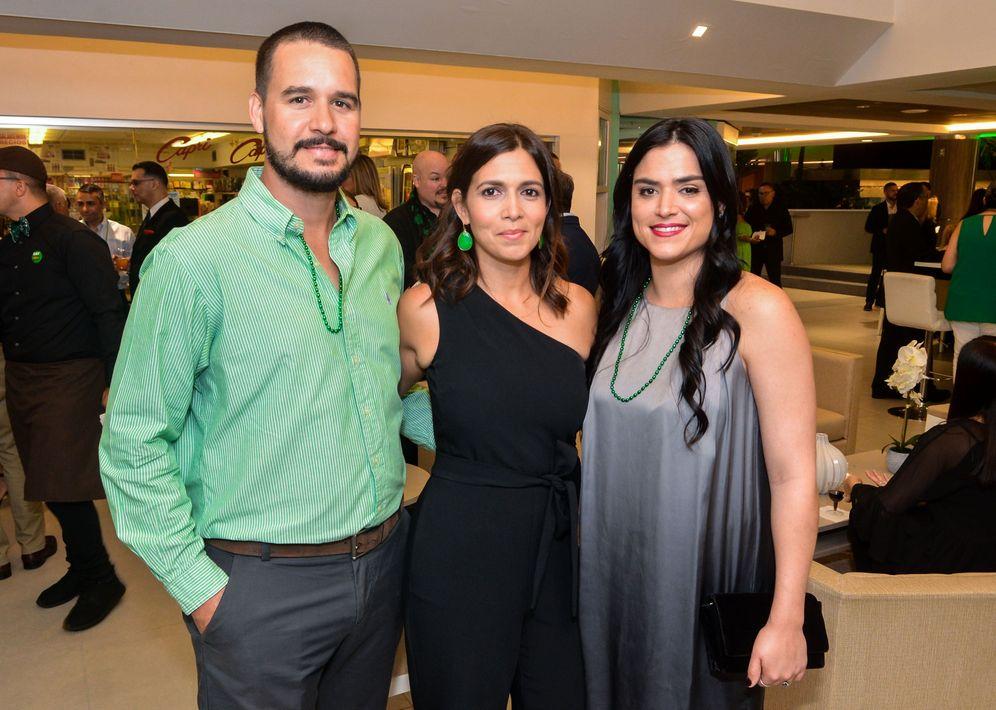 Ricardo Guzmán, Janice Class y Rebeca Carrera. Foto Enid M. Salgado Mercado.