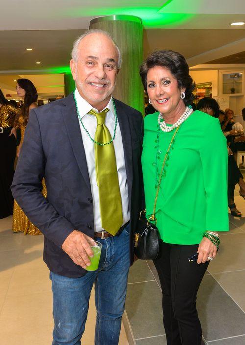 Julio Abislaimán e Isabel González. Foto Enid M. Salgado Mercado.