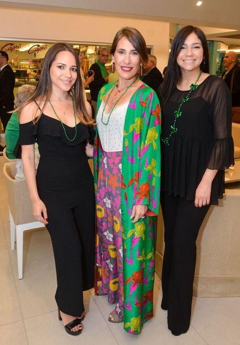 Melissa Nieves, Clarissa Biaggi y Lizbeth Collazo. Foto Enid M. Salgado Mercado.