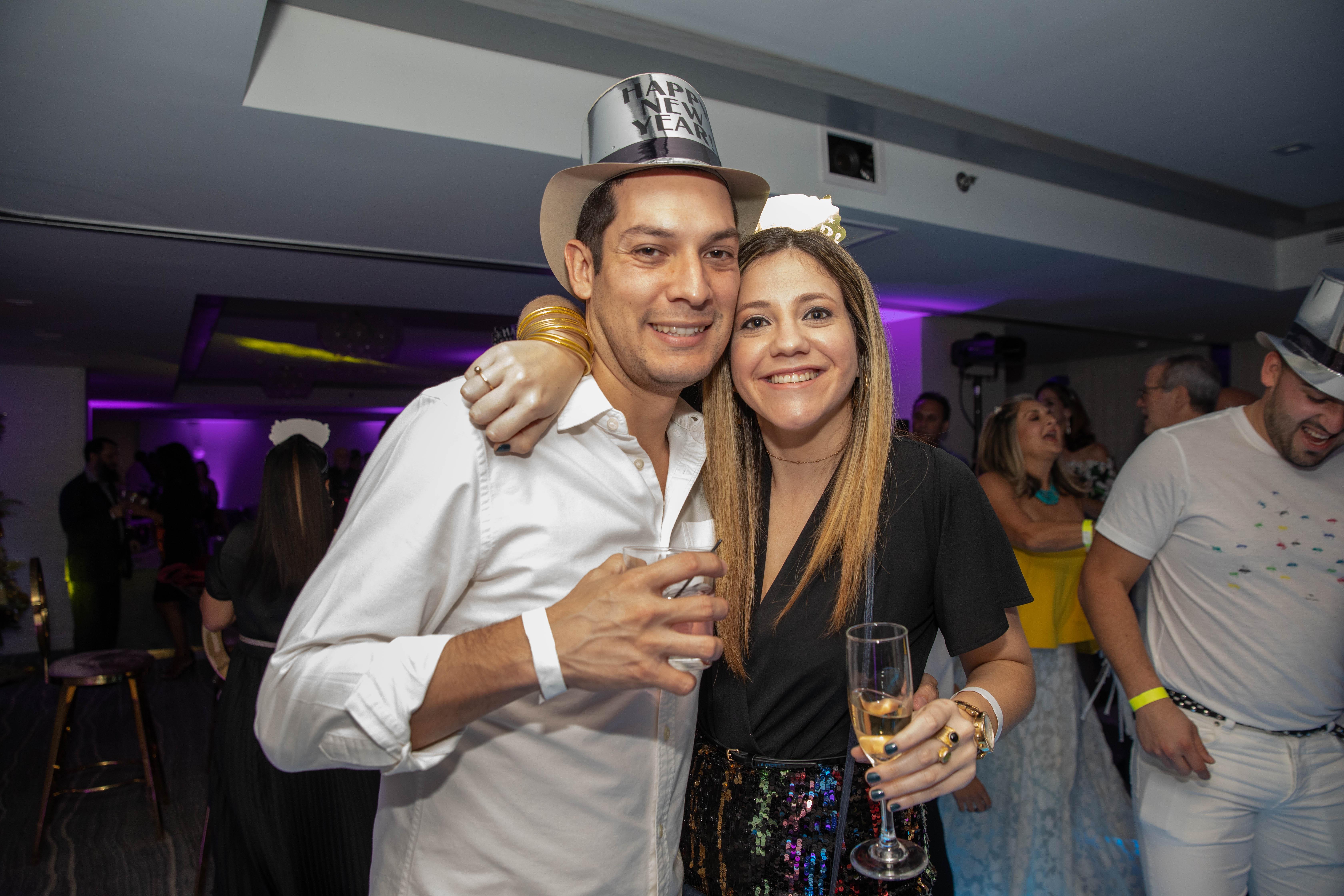Santiago López e Imari Martinez. (Suministrada)