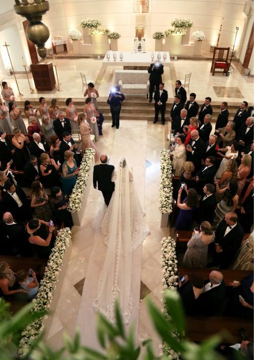 Vestido de la novia: Lisa Cappalli (Suministrada)
