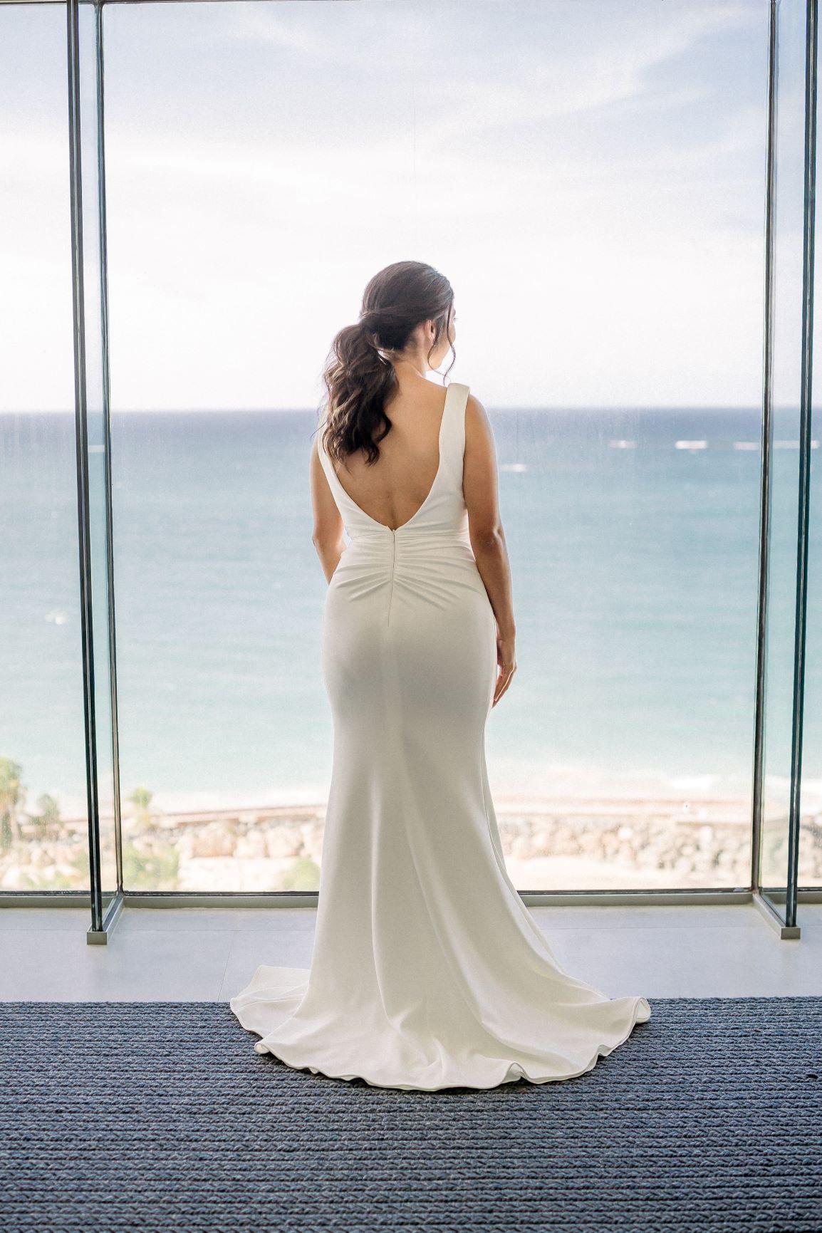 Traje de la novia: Jovani. Peinado y maquillaje: Christopher Feliciano (José Ruiz)