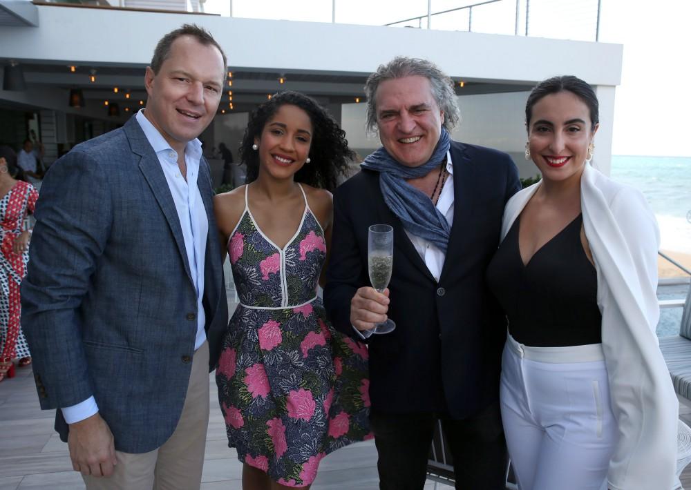 Pierre Alex Maillard, Rebeca Cubero, Fabio Granato y Eva Almodóvar.