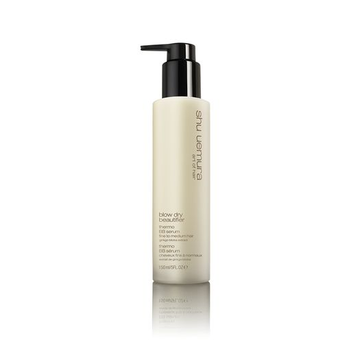Serum Shu Uemura Art of Hair Blow Dry Beautifier BB especialmente formulado para utilizarlo con calor