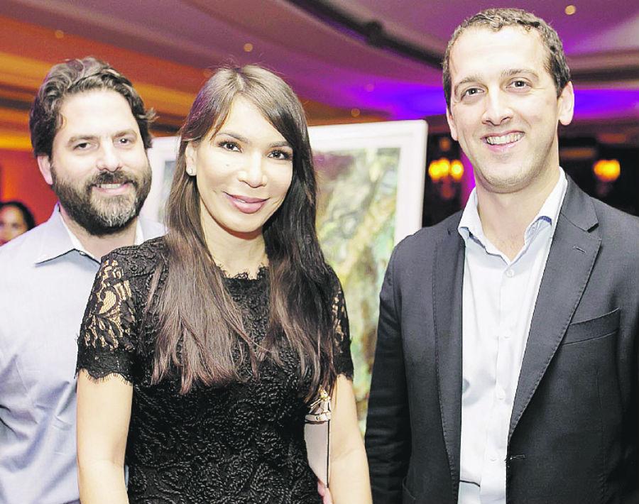 Antonio García, Mae-ling Colón y Rubén Méndez. (Foto: Xavier García)