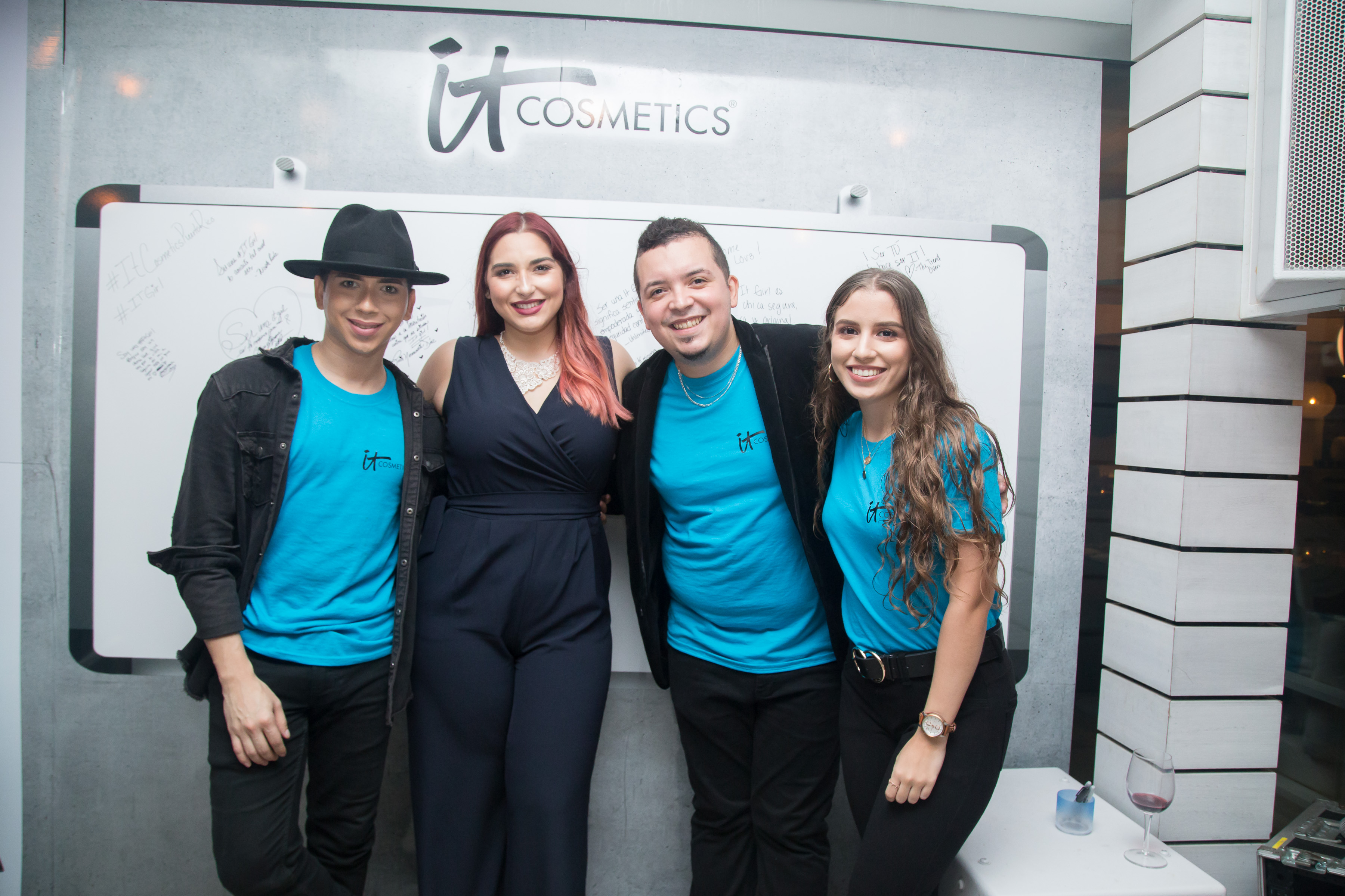 Stevan Rivera, Frances Rivera, Eliexer Rodríguez y Natalia Morales.