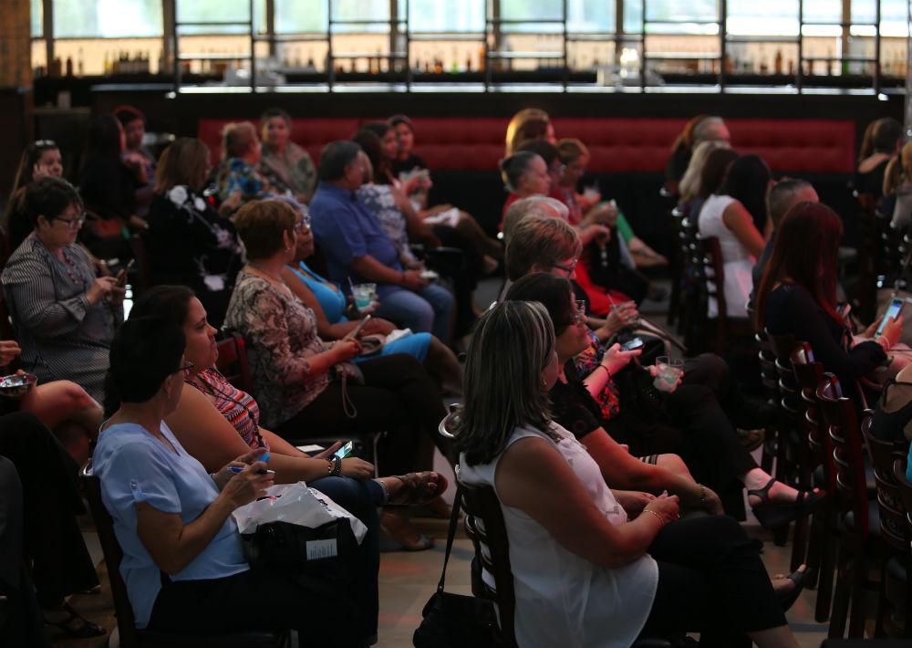 90 suscriptoras de El Nuevo Día y Magacín se dieron cita en Arena Live para participar en el taller. (Foto: Suministrada)