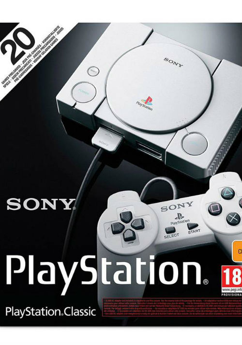 Play Station Classic de Sony. (Foto: Suministrada)