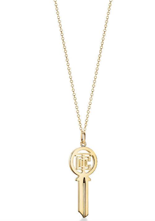 Colgante de llave Tiffany & Co. de Reinhold Jewelers. (Foto: Suministrada)