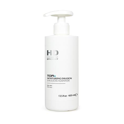 Topi + Emulsión Hidratante – Incluye este producto de HD Cosmetic Efficiency en la rutina de cuidado cororal, pues está desarrollado para todo tipo de pieles, incluso pieles secas. Ayuda a suavizar el picor y las rojeces a la vez que mantiene la piel hidratada y protegida. Es apto en bebes, niños y adultos. Busca más información en www.hddermocosmetics.com/pr. (Suministrada)