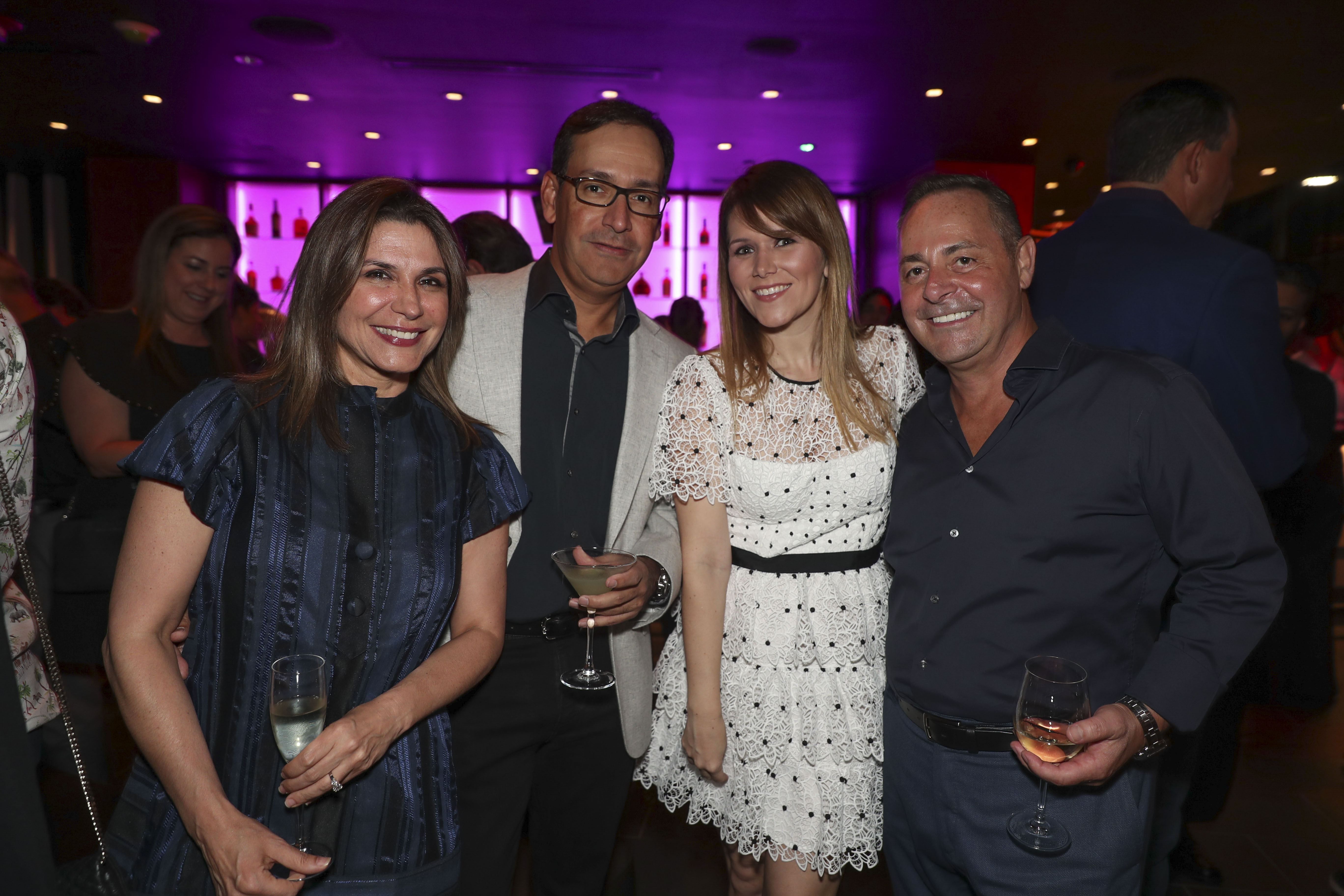 Tutti Muñoz, Javier Aponte, Dominique Myatt y Albert Charbonneau. (Suministrada)