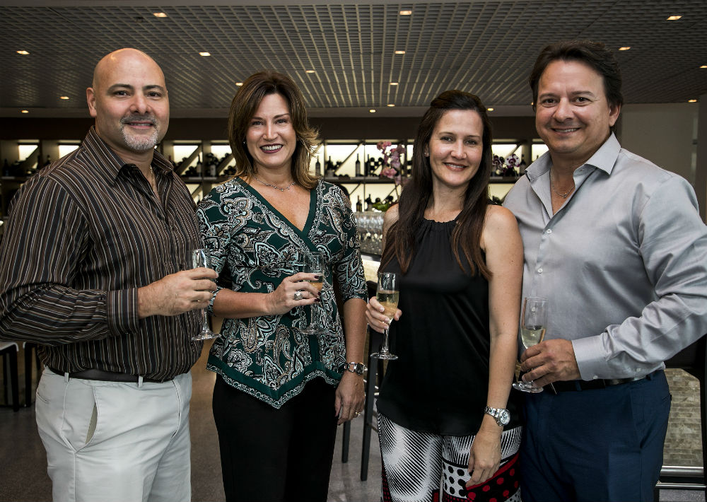 Carlos Leal, Milly García, Elizabeth González y Tony Chirino. (Suministrada)