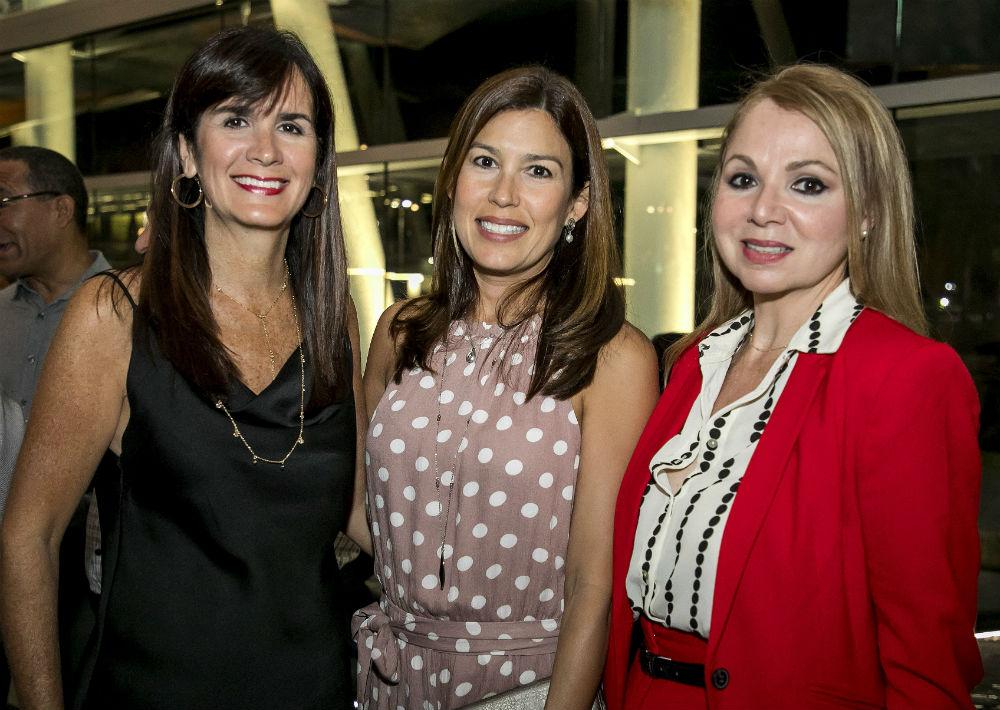 Doctora Maritere Cadilla, Beatriz Vivas y Mercedes Bellaflores. (Suministrada)