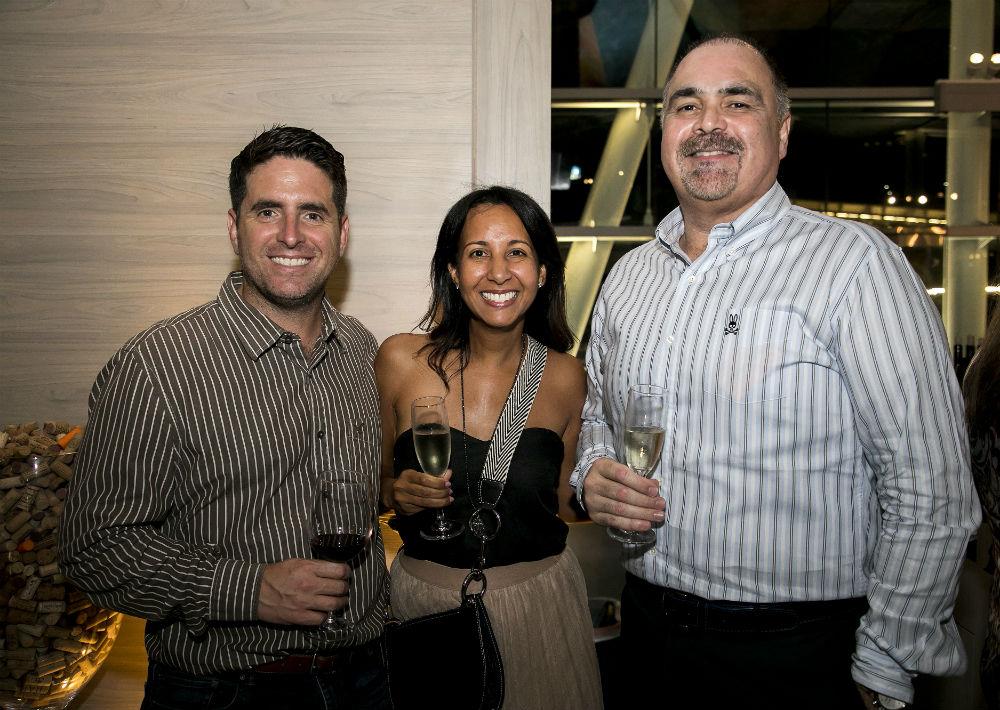 Emilio Fuentes, Yilma Quiñones y Francisco Oramas. (Suministrada)