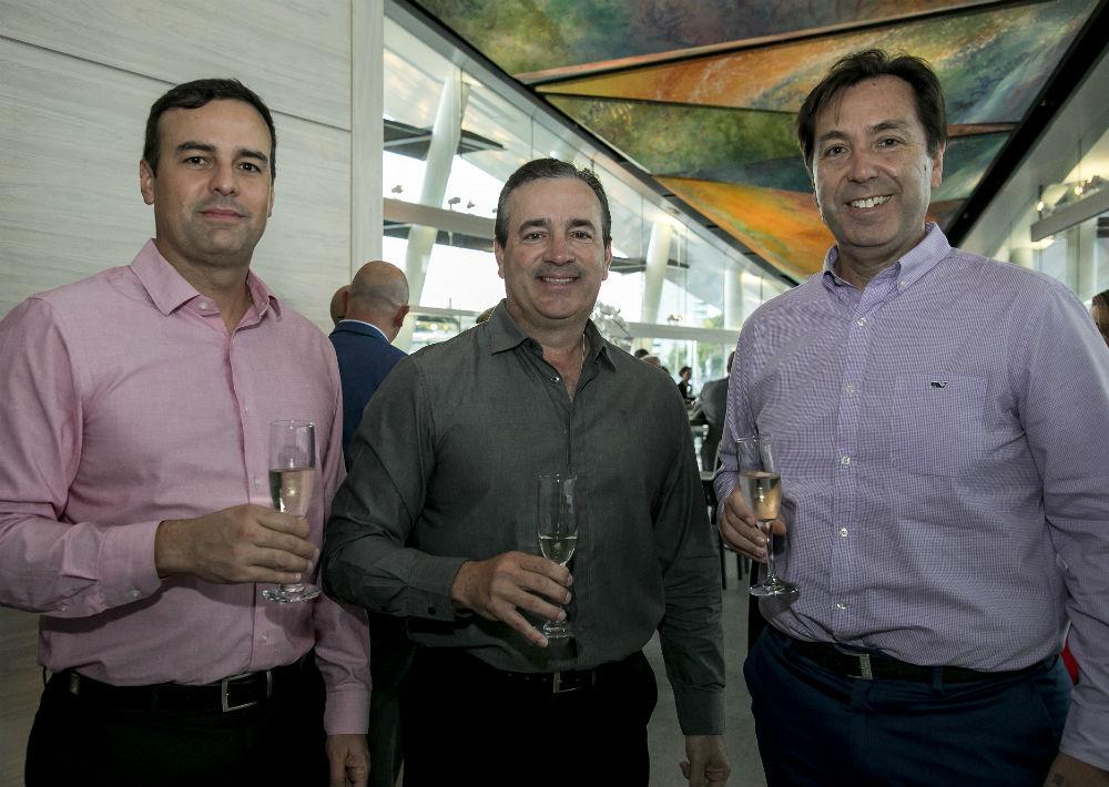 Germán Torres, Félix Caratini y Federico Grosso. (Suministrada)