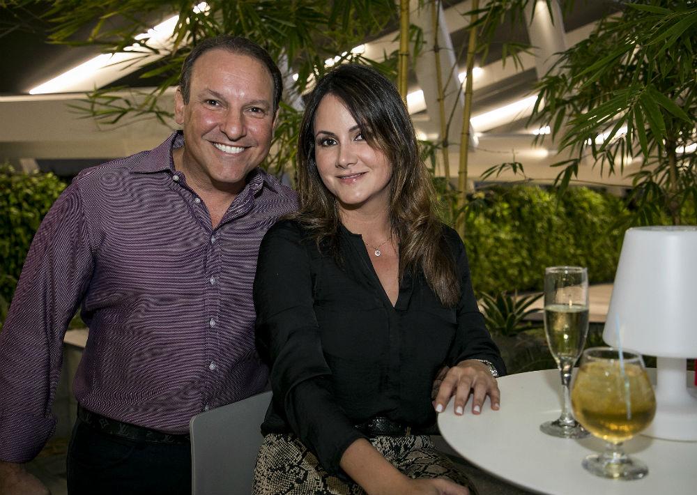 Javier Magriña y Lyn Yambo. (Suministrada)