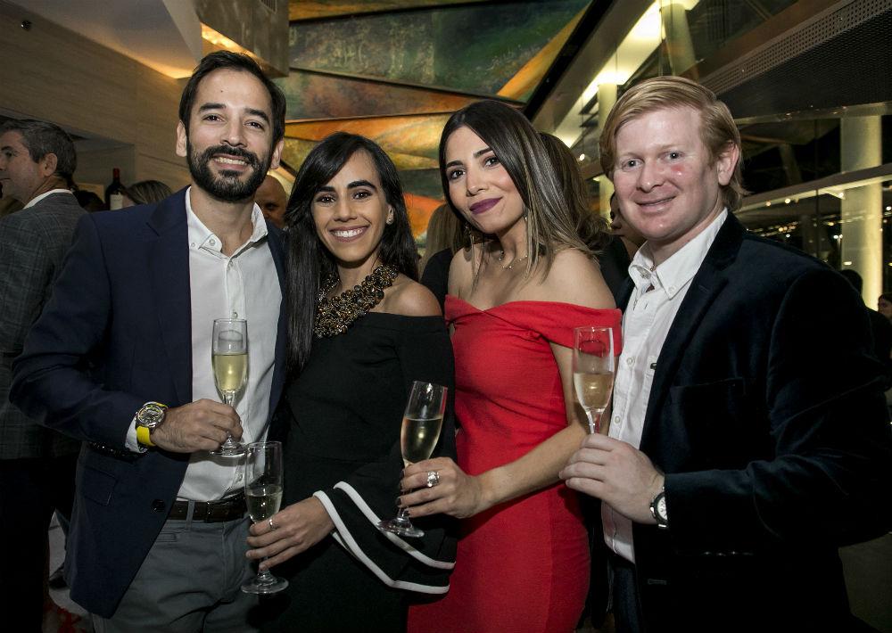 Jorge de la Vega, Melissa Santiago, María de la Vega y Felipe Gavilanes. (Suministrada)
