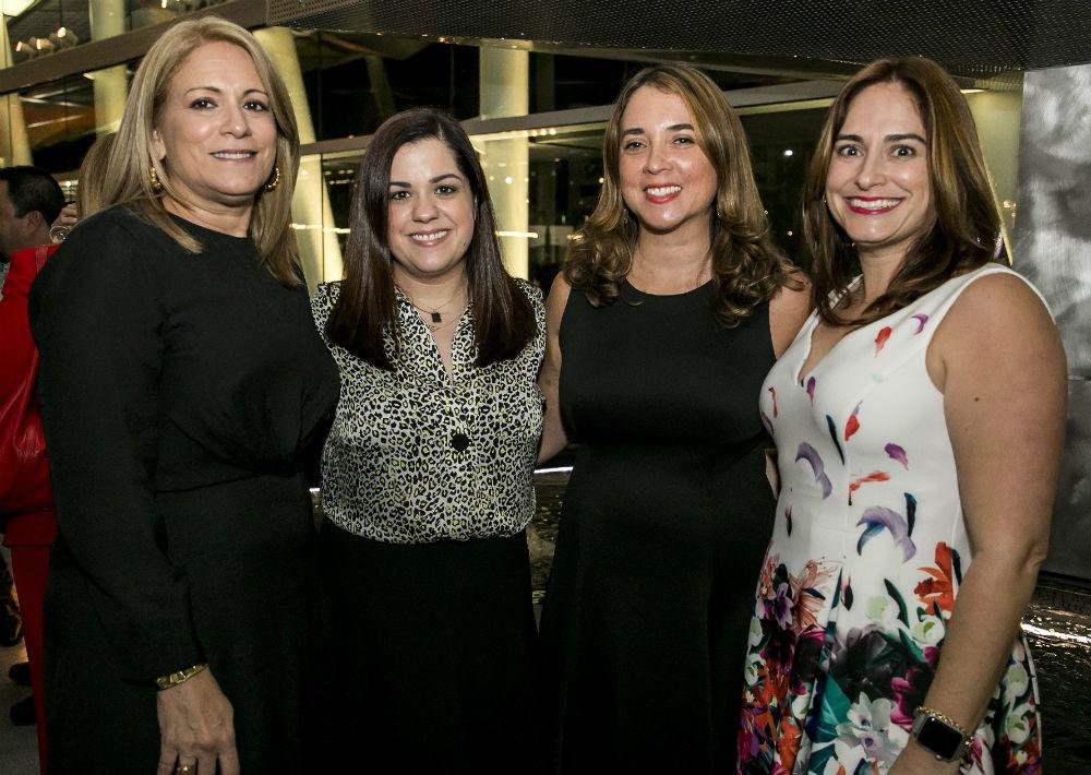 Licenciadas María E. Castro, Denise Villamar, Mirta Ortiz y Cristina Fernández. (Suministrada)