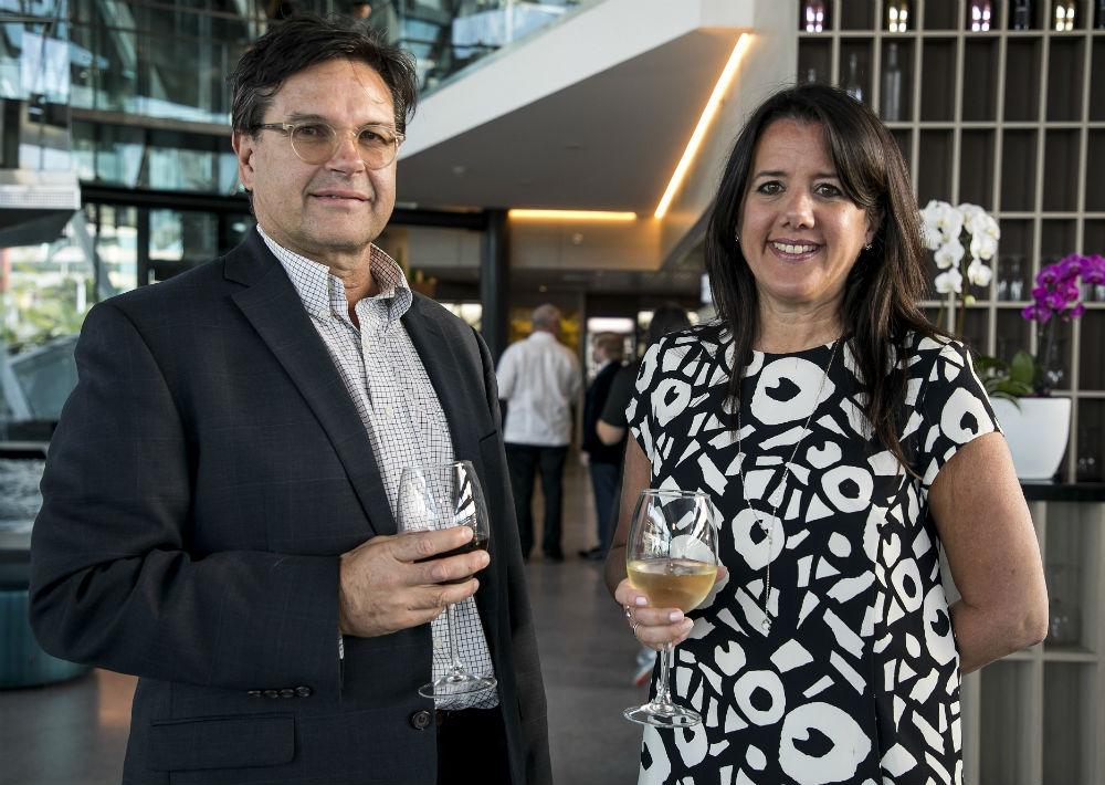 Ricardo Ávila y Stephanie Moore. (Suministrada)
